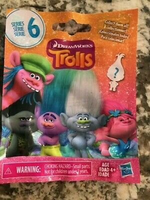 Trolls Movie Series 6 Sparkle Smidge Blind Bag Collectible Figure Checklist
