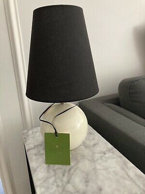 KATE SPADE PAVILLION Table Lamp ~ Black