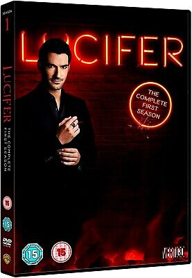 "Lucifer: The Complete First Season (DVD-2016,3-Disc) Region 2""...UNDENIABLY FUN"""