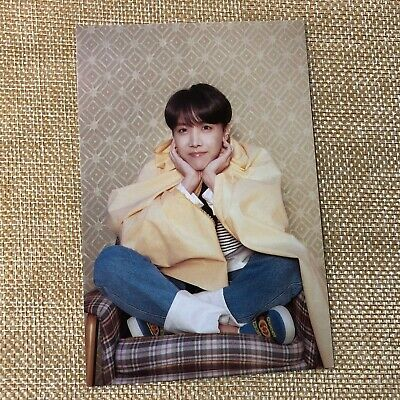 BTS J-HOPE [ Map Of The Soul Official Photocard Postcard ] PERSONA Album/NEW /+G