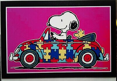 Peanuts Snoopy ♡ Bright Side ♡ Magnet ♡