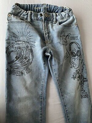Boys Gap Slim Fit Jeans Age 8 Years Great Condition