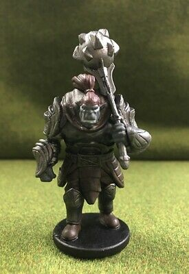 D/&D Miniatures Tyranny of Dragons OROG ORC FIGHTER #14