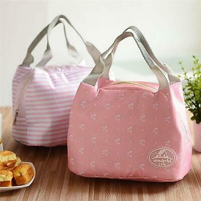 Kids Adult Lunch Bags Insulated Cool Bag Picnic Bags School Lunchbox Y3