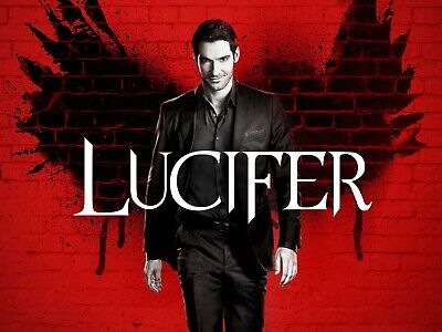 Lucifer: The Complete Second Season (DVD-2017, 3-Disc Set) Region 2. Tom Ellis**