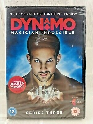 Dynamo Magician Impossible Series 3  Region 2 Dvd  New Sealed  Uk Freepost     9