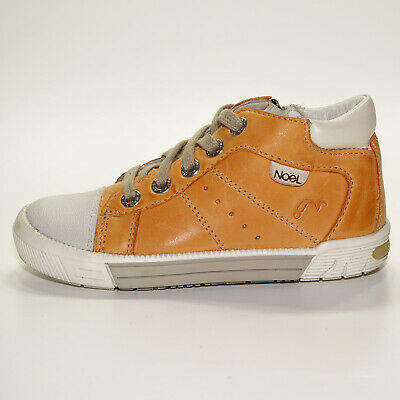 Noel Mini Bono Boys Boots in Brandy Leather 5Y053033E Now only £39.90