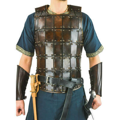 Medieval Leather armor Claw Spiked Greaves leg Armor sca larp armour costumes
