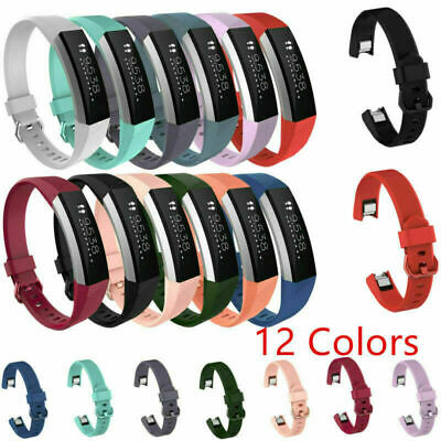 For Fitbit Alta HR Sport Tracker Silicone Wristband Watch Band Strap Replacement