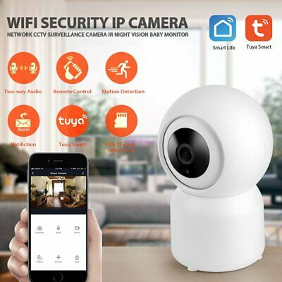 Wireless HD 1080P Pan Baby Pet Monitor Network Security IP Camera WiFi IR Webcam