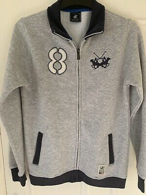 Boys Beverley Hills Polo Club Zipped Jumper Jacket 11/12 Yrs