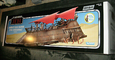 LOCAL PICK UP! Haslab Khetanna Jabba's Sail Barge BOX & PACKAGING no toy or figs