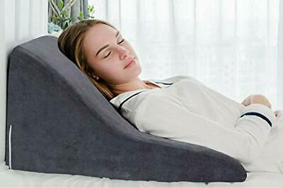 QUEEN ROSE Bed Wedge Pillow Support Cushion - Reduce Back Pain, Snoring, Acid