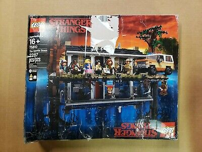 LEGO 75810 Stranger Things The Upside Down Kit (2287 Pieces) ***OPEN BOX