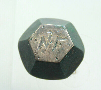 Ancient Bronze  Byzantine Commercial Weight  SILVER - HUGE 51,5g  NГ VERY RARE