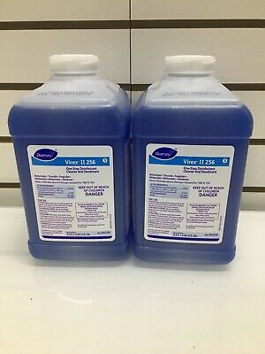 Virex Ii 256 One Step Disinfectant For Diversey J Fill Mint Scent 813827 68 96 Picclick