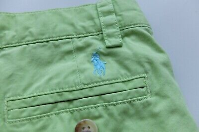 Ralph Lauren Childs boys chino trousers age 3 Todder green 3T