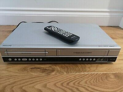 PHILIPS DVD Player / Video Recorder VHS VCR Combo Combi DVP3350V Include Remote