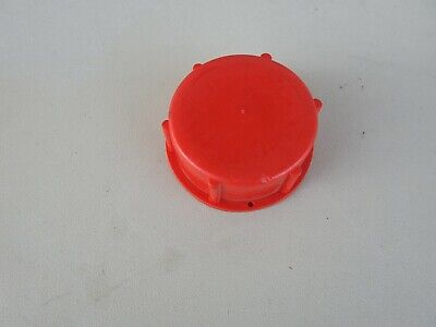 Fuel tank LID RED for REMOVABLE fuel tank and other models  freeline used