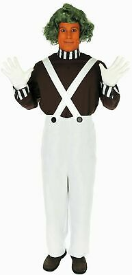 Oompa Loompa Charlie Chocolate Factory Adult Fancy Dress Costume,Fun Shack,BNIB