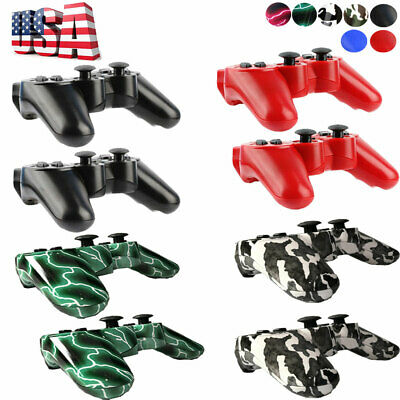 USA 2x Wireless Bluetooth Game Controller Pad For Sony PS3 Playstation 3 st