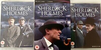 SHERLOCK HOLMES:The Complete Collection(JEREMY BRETT)-All 41 Episodes-16 x DVD