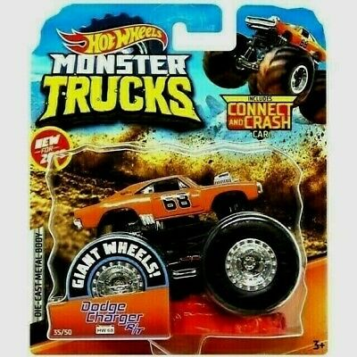 2020 Hot Wheels Monster Trucks Dodge Charger R T Hw 68 62 75 New Rare Lee 5 99 Picclick