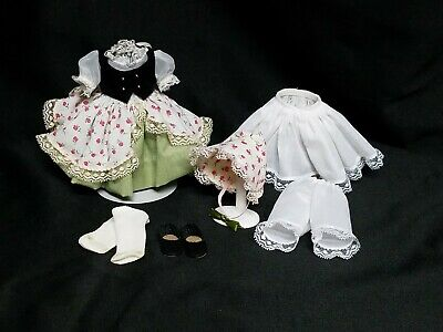 """Madame Alexander 8"""" Doll """"Bo Peep"""" Outfit Vintage for Vogue Muffie Ginny or More"""