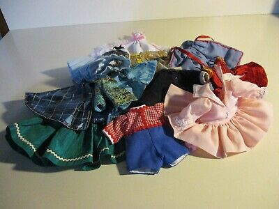 doll clothes for 8''dolls madame alexander clothes and maybe ginny ?