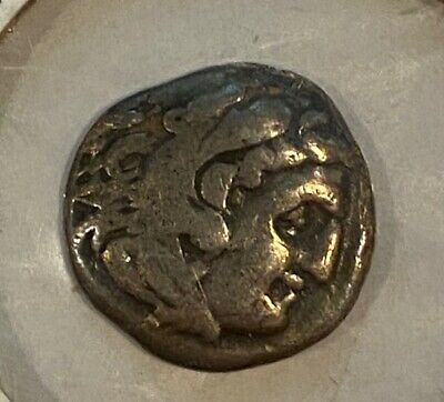 Alexander III the Great 336-323 BC Drachma Ancient Greek Silver Coin