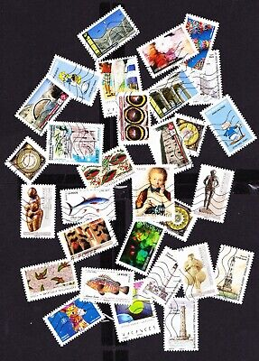 France 2019-2020 :Lot 145 Timbres Differents Avec 10 Series Completes (4 Scans)