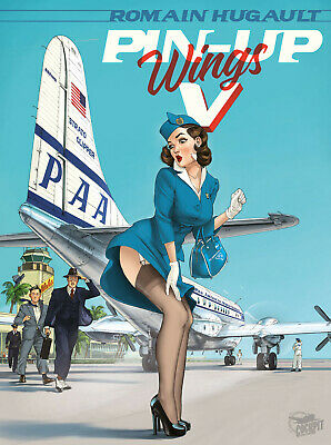 ➡ HUGAULT ☆ Pin-up Wings 5 EO 2020 ☆ Paquet ☆ Neuf ☰