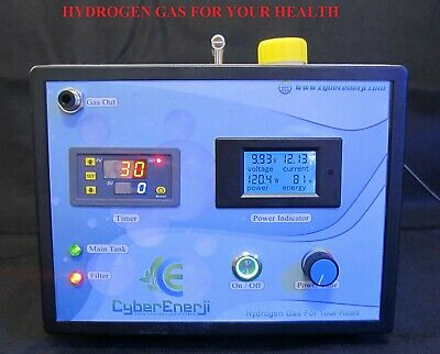 Hydrogen breathing machine for asthma and COPD