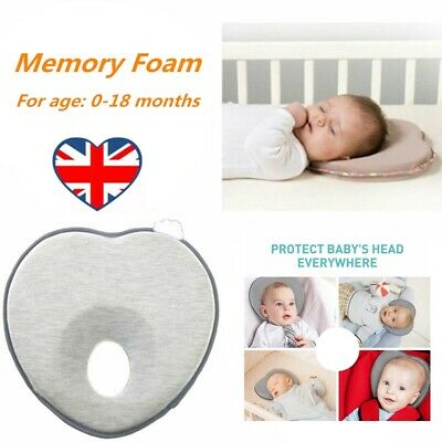 Baby Infant Newborn Prevent Flat Head Neck Syndrome Support  Pillow CB
