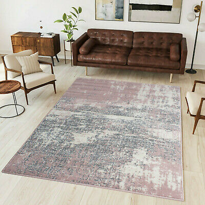 New Large Small Morden Living Room Hallway Rugs Cheap Rugs Online Pink Ochre Mat