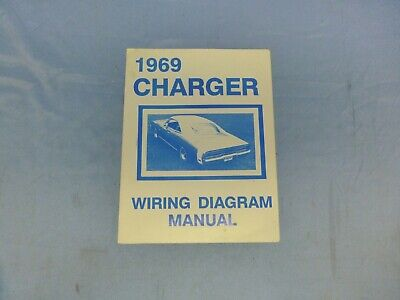 1966 Dodge Charger Wiring Diagram Manual 66 9 00 Picclick