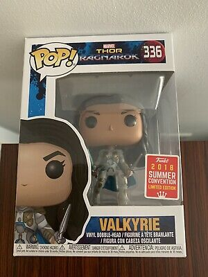 Funko Pop Marvel Thor Ragnarok Valkyrie 336 Summer Convention 2018 Ltd Ed 36 99 Picclick Uk