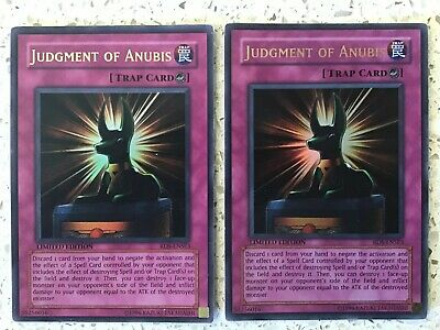 Yugioh Judgement Of Anubis RDS-ENSE3 Ultra Rare Limited Special Ed Pack Fresh NM