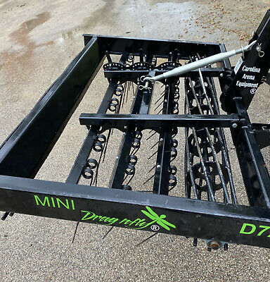 "D72"" MINI DragNfly arena groomer, arena drag, arena equipment, footing drag"