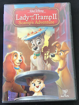 Disney Lady And The Tramp Ii Scamp S Adventure Lithograph 9 99 Picclick