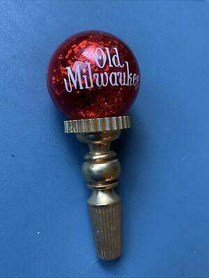 NEW OLD STOCK OLD MILWAUKEE BEER PICNIC TAP HANDLE PLASTIC LIGHTWEIGHT
