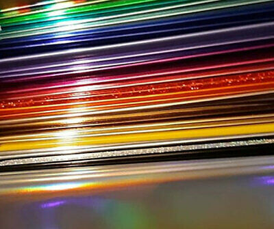 Hot foil by the metre Go Press Spellbinders Glimmer TODO Foil Quill 50 colours