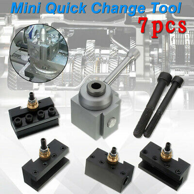 7pcs Mini Quick Change Bar Holder Cutter Blade Cutting Drill Replacement Tool