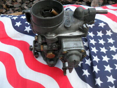 jeep willys ford hotschkiss carburateur solex  34 pbic