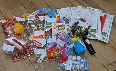 Full Month Of Elf Shelf Props Activities Accessories. Complete Kit of 24 Items.