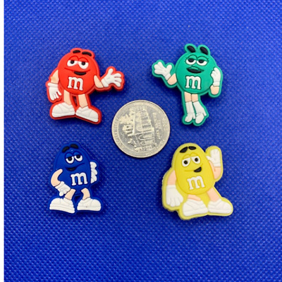 M\u0026M CANDY SHOE Charms for Crocs and