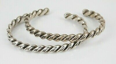 wooden cuff with 925 plates 7.5\u201d vintage southwestern sterling silver handmade bracelet silver tested