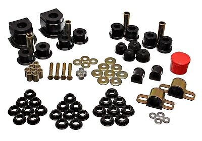Energy Suspension 2.18104R Complete Master Bushing Kit 55-75 Jeep Willys CJ5