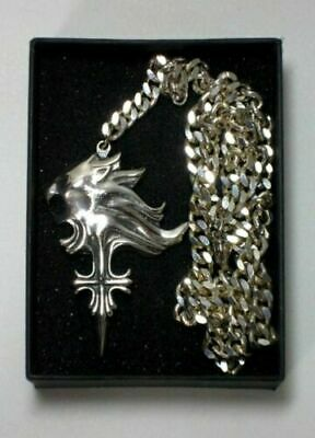 Final Fantasy VIII Sleeping Lionheart Silver Necklace Squall Leonhart by SQUARE
