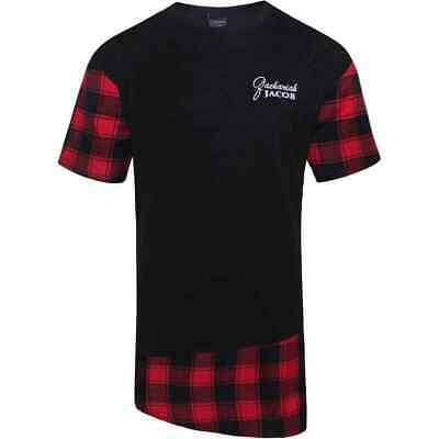 NEW 2-Piece Mens Drip-2-Hard//Savage Hipster T Shirt+Flannel Shorts Set 2 LEFT